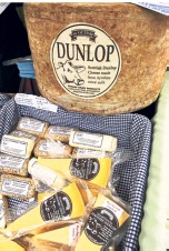 ??  ?? Ayrshire Dunlop cheese is among several traditional Scottish cheeses.