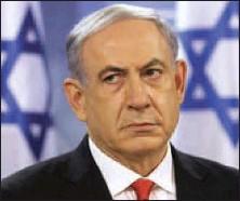 ??  ?? Netanyahu