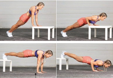 Image result for Tip Toe Push Ups