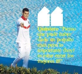??  ?? El clavadista boricua es el séptimo atleta del patio que llega cuando menos a la etapa semifinal en las Olimpiadas de Río 2016.