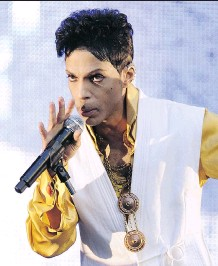 ?? BERTRAND GUAY/AFP/ GETTY IMAGES ?? Prince was raised a Seventh-day Adventist and later became a Jehovah's Witness.