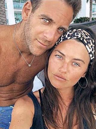 """??  ?? A fines de 2018 la modelo y conductora y el tenista confirmaron su romance luego de varios meses de rumores. Luego tuvieron sus """"lunas de miel"""" en el Caribe y el Sur argentino."""