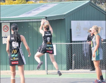 ?? Clean sweep: Greg Kirk ?? Benalla All Blacks held bragging rights over Goorambat in all three grades on Saturday. Picture: