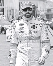 ?? JASEN VINLOVE, USA TODAY SPORTS ?? Paul Menard, who is in the Chase for the Sprint Cup for the first time, says he would trade any of his hobbies for the title.