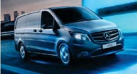 ??  ?? Mercedes-Benz eVito er byggður á sama grunni og EQV-fjölskyldubíllinn.