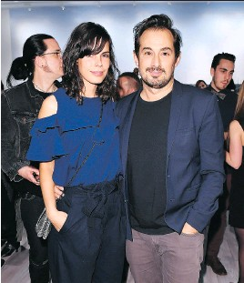 ??  ?? Glenna Weddle and Anwar Mekhayech •