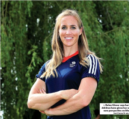 ?? David Davies/PA wire ?? Helen Glover says her children have given her a new perspective on life
