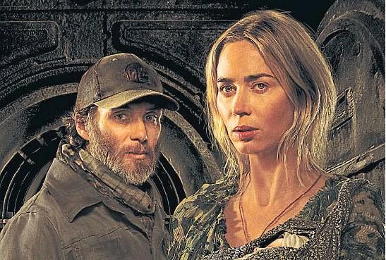 ?? PARAMOUNT ?? CILIAN MURPHY Y EMILY BLUNT. Los actores interpretan a un hombre solitario y a una madre que deben sobrevivir sin hacer ruidos que alerten a unas peligrosas criaturas.