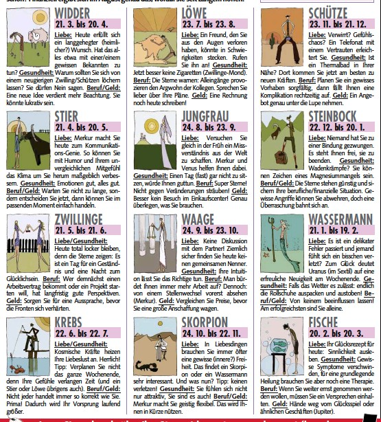 Krone Zeitung Horoskop