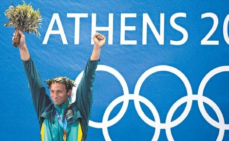 ??  ?? Ian Thorpe was the toast of swimming in 2004 but officials turned on him when he challenged their power.