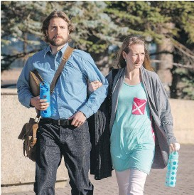 ?? DAVID ROSSITER/ THE CANADIAN PRESS/ FILES ?? David Stephan and his wife Collet Stephan are on trial for failing to provide the necessaries of life for their son Ezekiel.