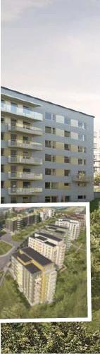 ??  ?? NYTT OMRÅDE. Runt 400 nya lägenheter kan komma att bli verklighet i Tensta.