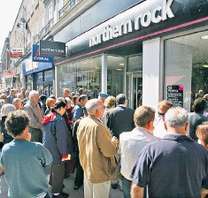 ??  ?? It is nearly 10 years since the collapse of Northern Rock and action on rates is long overdue