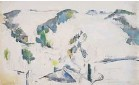 ??  ?? ▼ Paul Cézanne's work Moun­tain­ous Land­scape (circa 1885-90) was in­cluded in the Kar­shan gift