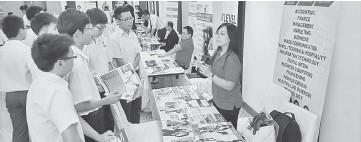 ??  ?? File photo shows students at a previous EduQuest Education Fair.