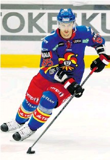 ?? MIKA KYLMANIEMI PHOTO ?? Erik Karlsson is leaving Helsinki-based Jokerit of the Finnish Elite League and will be returning to his home country of Sweden to wait out the NHL lockout. In a video posted Thursday, Karlsson said he hoped to put on one last good show for the home...
