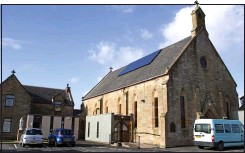 ??  ?? Decades of devotion: St Mary's church in Saltcoats, Ayrshire
