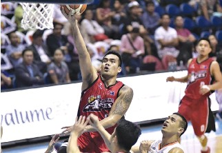 ??  ?? THE ALASKA ACES are out to break a two-game losing streak in their final game of the eliminations of the PBA Philippine Cup.