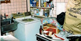 ??  ?? The washing machine was a key feature in the murder inquiry.