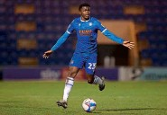 ??  ?? Kwame Poku…in action for League Two Colchester