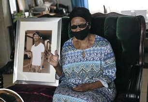 ?? Picture: Rogan Ward ?? Phumelele Khoza, the grandmother of Sphamandla Khoza (in picture), who was murdered, speaks of her loss at her home in Ntuzuma, Durban.