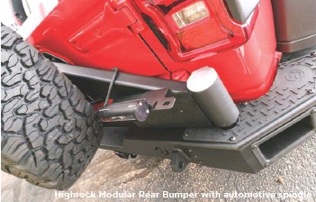 ??  ?? Highrock Modular Rear Bumper with automotive spindle
