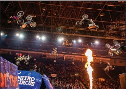 ?? Submitted photo ?? Nitro Circus: You Got This is coming to Pawtucket on Saturday, May 25. The excitement begins at 7 p.m. at McCoy Stadium. Tickets are on sale now.