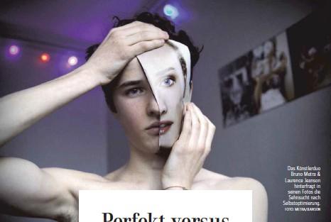 ?? FOTO: METRA/JEANSON ?? Das Künstlerduo Bruno Metra & Laurence Jeanson hinterfragt in seinen Fotos die Sehnsucht nach Selbstoptimierung.