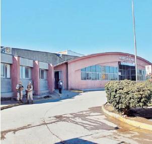 ??  ?? Carabineros comprometió la presencia de funcionarios como punto fijo en el recinto.