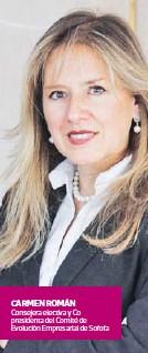??  ?? CARMEN ROMÁN Consejera electiva y Co presidenta del Comité de Evolución Empresarial de Sofofa