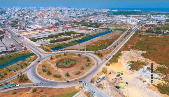 ??  ?? Corredor Portuario de Barranquilla.