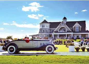 ?? TORONTO STAR FILE PHOTO ?? The Cobble Beach Concours d'Elegance takes place Sept. 16 and 17 and will have more than 100 cars on display.