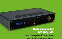 """??  ?? Electrocompaniet EC1 80D, p80 An """"entry-level"""" amp from the Norwegian specialist, that does everything well"""