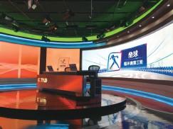 ??  ?? 央视IBC演播室