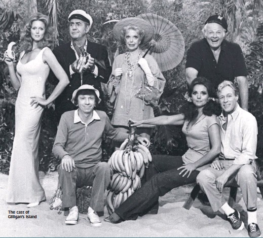 ??  ?? The cast of Gilligan's Island