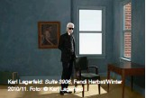 ??  ?? Karl Lagerfeld: Suite 3906, Fendi Herbst/Winter 2010/11. Foto: © Karl Lagerfeld