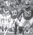 ?? MICKEY WELSH/MONT­GOMERY AD­VER­TISER ?? Alabama and QB Mac Jones should help col­lege football's TV rat­ings.