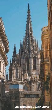 ??  ?? Cathedral of Barcelona. Jelien Moerman