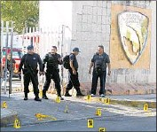 ?? Alonso Cupul European Pressphoto Agency ?? IN JANUARY, gunmen fired at several public buildings in Cancun, killing four and injuring others.