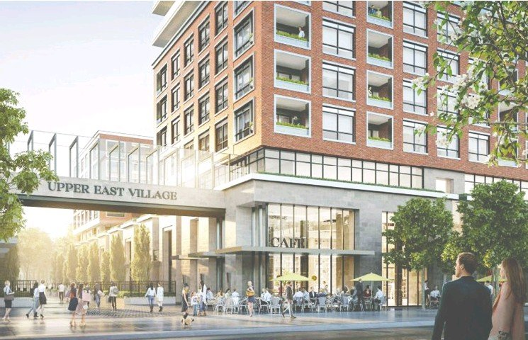 ?? Courtes y Camrost Felcorp ?? The demand for work-from-home space is perceived great enough that Camrost Felcorp has reconfigured and enlarged some of the 295 suites in its Upper East Village project.