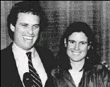 ?? BY ELISE AMENDOLA — ASSOCIATED PRESS ?? Joe Kennedy and his then-wife, Sheila, in 1985.