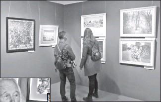 ??  ?? В Музее истории Киева открылась большая выставка Марчука «Я ЕСМЬ»