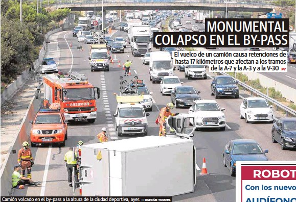 MONUMENTAL COLAPSO EN EL BY-PASS
