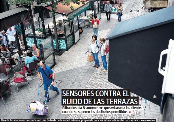 SENSORES CONTRA EL RUIDO DE LAS TERRAZAS