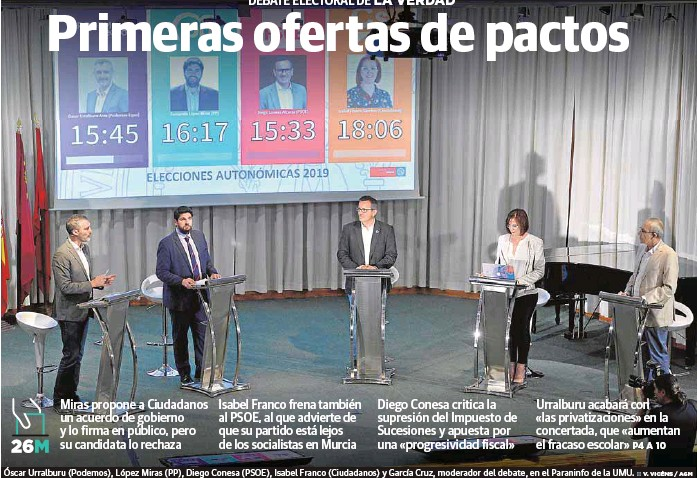 PRIMERAS OFERTAS DE PACTOS