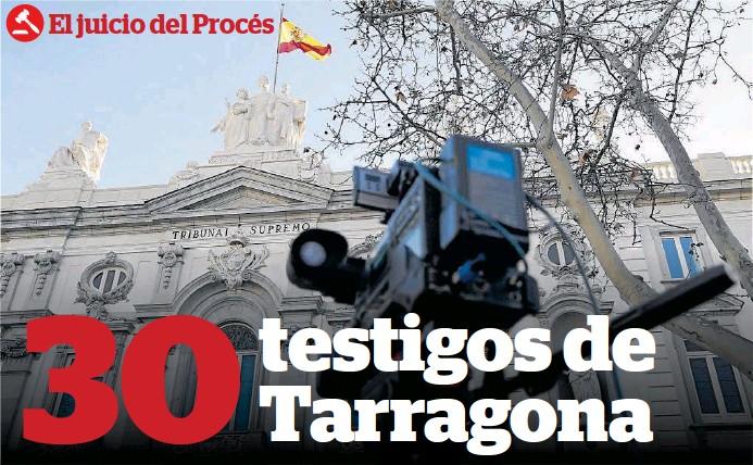 30 TESTIGOS DE TARRAGONA