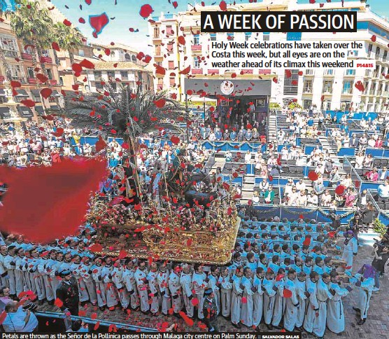 A WEEK OF PASSION