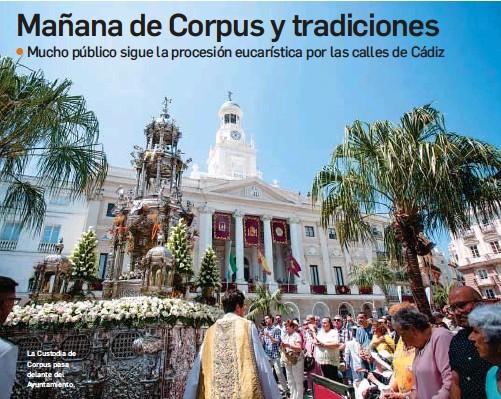 MAÑANA DE CORPUS Y TRADICIONES