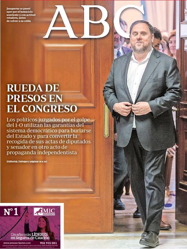 RUEDA DE PRESOS EN EL CONGRESO