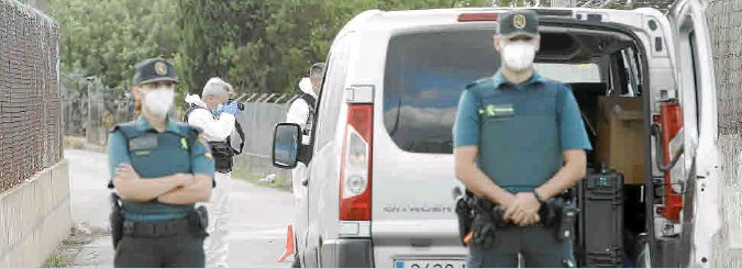 POLICE LAUNCH INCA MURDER PROBE